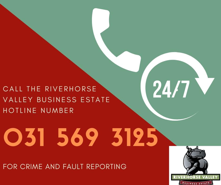 The Riverhorse Valley Business Estate 24 Hour Hotline Number
