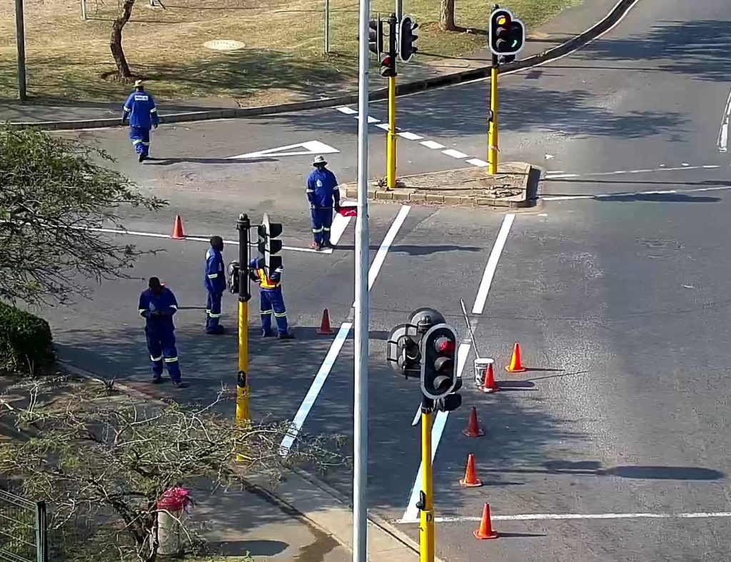 New Road Markings For RHVBE